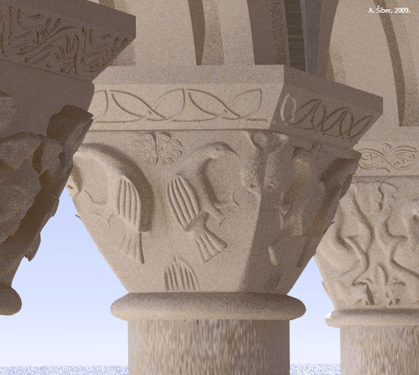 capital, Krk, birds, fish