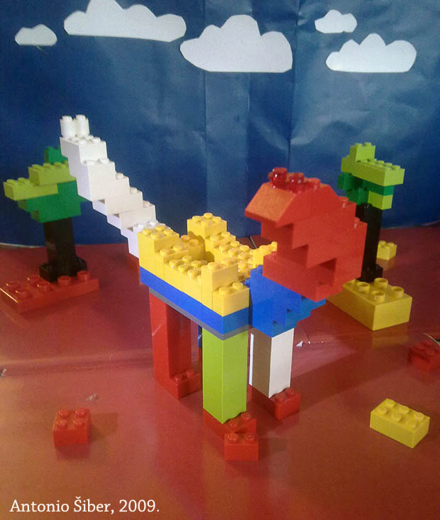 lego, dinosaur, illustration, sky